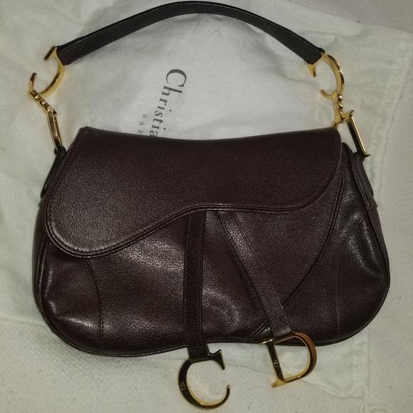 057838e4f9f Dior Bags | Christian Double Saddle Bag | Poshmark